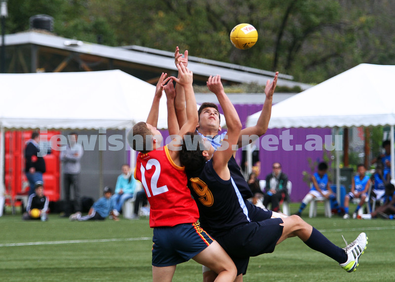 25-3-12. Unity Cup 2012. Mt Scopus v Adelaide. Photo: Peter Haskin