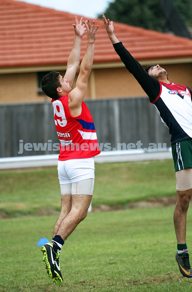 17-3-13. Unity Cup, Victorian Championships 2012. The MUJU team, made up of Jewish and Muslim players, were runners up in the tournament. Photo: Peter Haskin