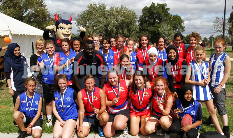 24-3-13. Unity Cup. MUJU womens team . Photo: Peter Haskin