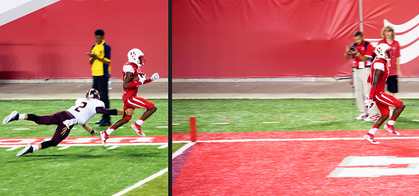 Another UH touchdown!