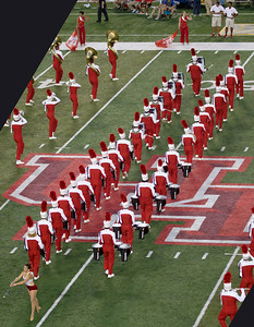 The UH Band's persussion section