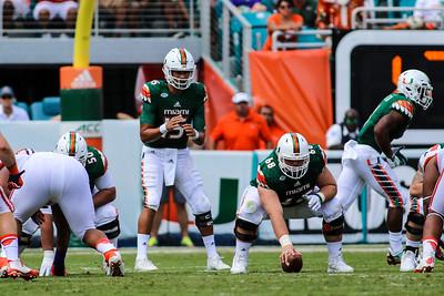 University of Miami vs. Clemson University, October 24, 2015.