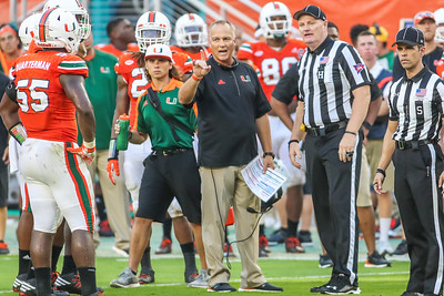 University of Miami vs. University of North Carolina.
