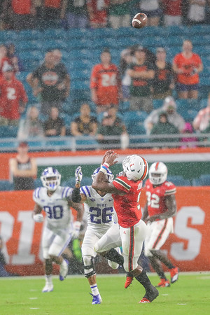 University of Miami Football vs. Duke University, 2018