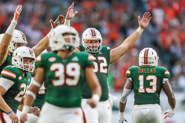 University of Miami vs. Savannah State.