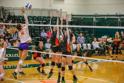 Celmson vs. University of Miami Volleyball