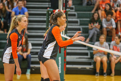 University of Miami Hurricanes vs. Notre Dame Fighting Irish, Women's Volleyball
