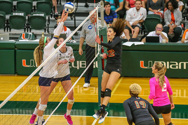 University of Miami vs. Notre Dame Volleyball
