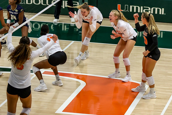 University of Miami vs. Georgia Tech, 2020