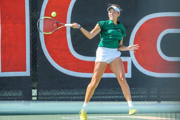 University of Miami Fall Invite, Women's Tennis