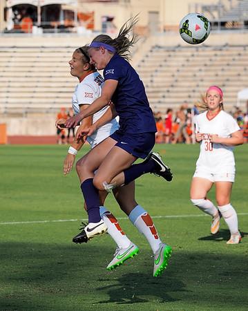 University of Texas Soccer vs. TCU 10.11.2015
