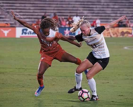 University of Texas Soccer vs College of Charleston 8.26.2016