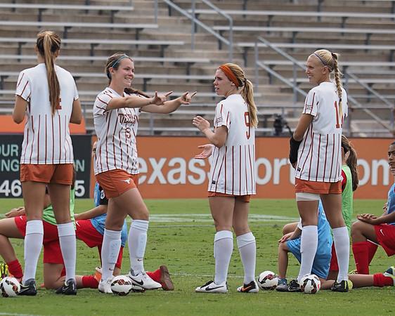 University of Texas Soccer vs. West Virginia 9.28.2014