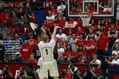 University of Arizona Mens Basketball v Oregon (PAC10)