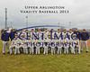 Varsity Baseball TEXT