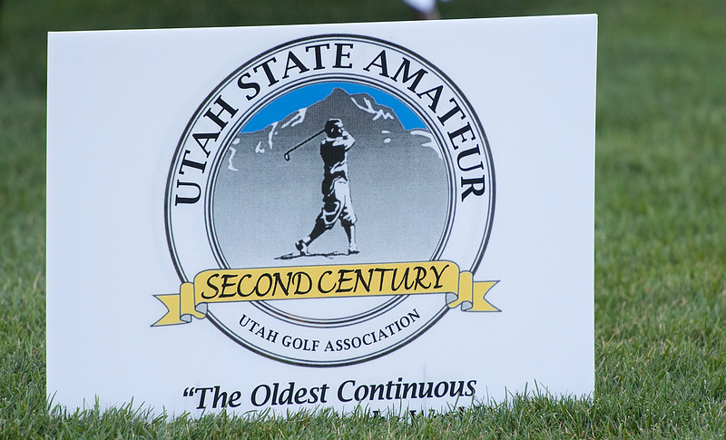 A group of Utah amateurs compete at the Ogden Golf and Country Club. On July 8, 2014. (BRIAN WOLFER/Standard-Examiner)