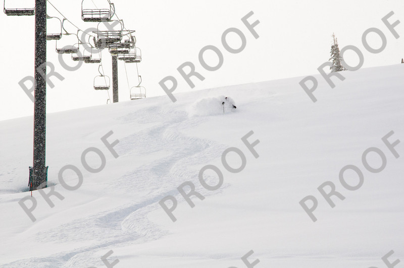 Another shot from April 2011 with four feet of new snow. And this was a Saturday!