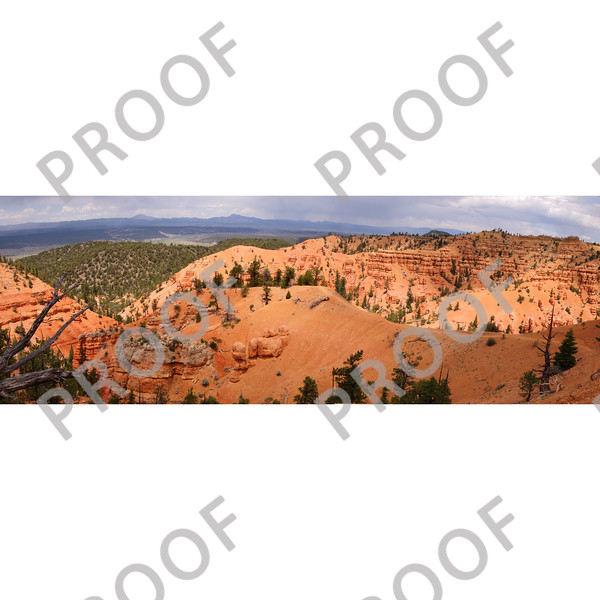 The spectacular Thunder Mountain trail in Red Canyon on highway 12 near Bryce.