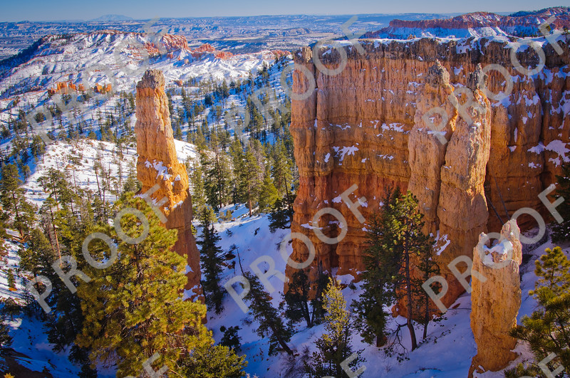 Bryce Canyon NP, and winner of the winter photo contest in Iron County Today, 2011.
