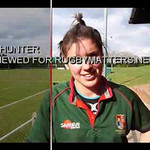 Sarah Hunter Talking to rugbymatters.net