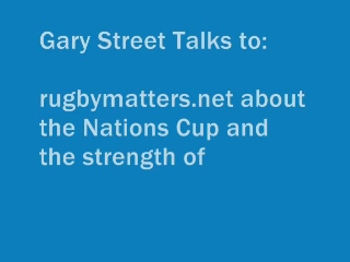 England Head Coach Gary Street on the England Performance in the Under 20s Nations Cup
