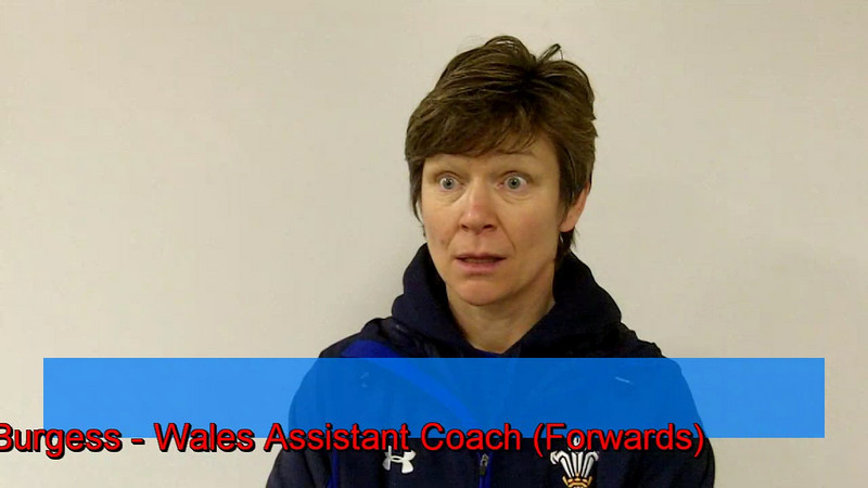 Wales Assistant Coach Liza Burgess comments on the Womens World Cup, the Wales - England 6 Nations opener and Womens Rugby star 'Maggie Alphonsi'