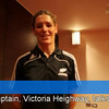 The Black Fern's 'Victoria Heighway' reflects on the historic Twickenham encounter and looks towards the forthcoming 2010 Women's Rugby World Cup