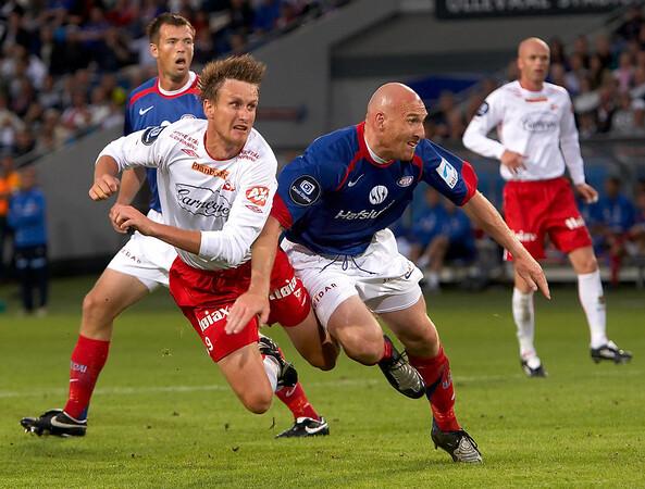 VIF Fotball - Fredrikstad 1-1, Ullevål Stadion 2.8.08