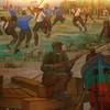 """""""River Plate""""  mural, por Quinquela Martin.  Confiteria del Club Atletico River Plate."""