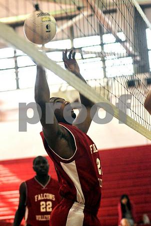 2216 #26 Chris Clement, VSSouth. VS South HS vs Sewanhawka HS, April 24th, 2009.  Photo by Kathy Leistner