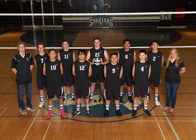 VPHS FS JV Boys Volleyball 2017