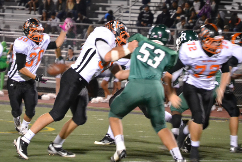 Vacaville at Rodriguez - November 1, 2013