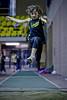 Compétition régionale d'athlétisme (Montréal)<br /> le 14 novembre,  2010<br /> le saut en longueur, Colibri, Stella