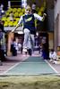 Compétition régionale d'athlétisme (Montréal)<br /> le 14 novembre,  2010<br /> le saut en longueur, Colibri