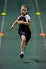 Compétition régionale d'athlétisme (Montréal)<br /> le 14 novembre,  2010<br /> 50 metres Colibri, Caroline