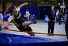 Compétition régionale d'athlétisme (Montréal)<br /> le 14 novembre,  2010<br /> le saut en hauteur, Colibri, Caroline