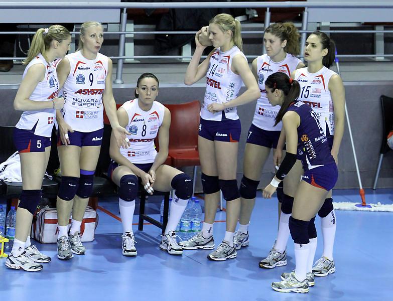 Asystel Novara ilk altısı maç öncesi