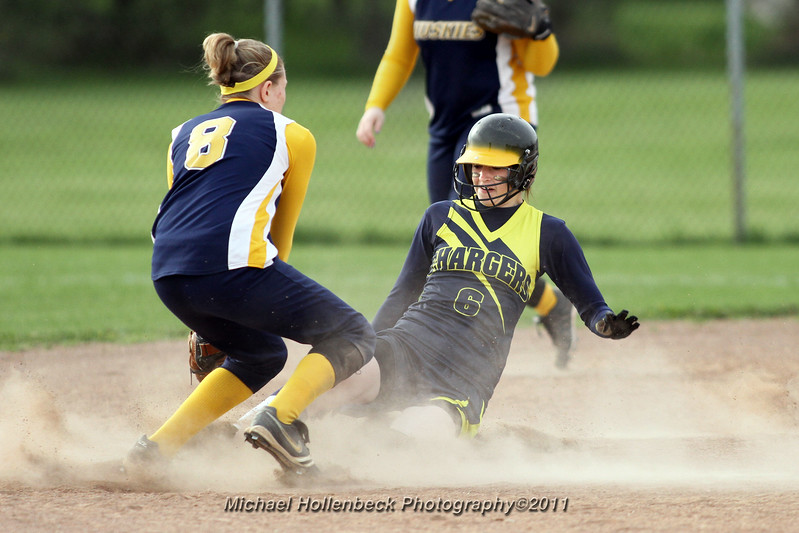 Valley Lutheran High School vs Breckenridge in girls softball. Added to the soccer gallery to see if anyone is paying attention.