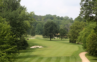 An elevated fairway at Valley of the Eagles in Elyria. BRUCE BISHOP / CHRONICLE