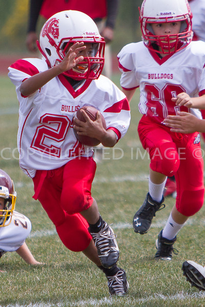 Van Reed Mighty Mites vs Mifflin 9-15-13