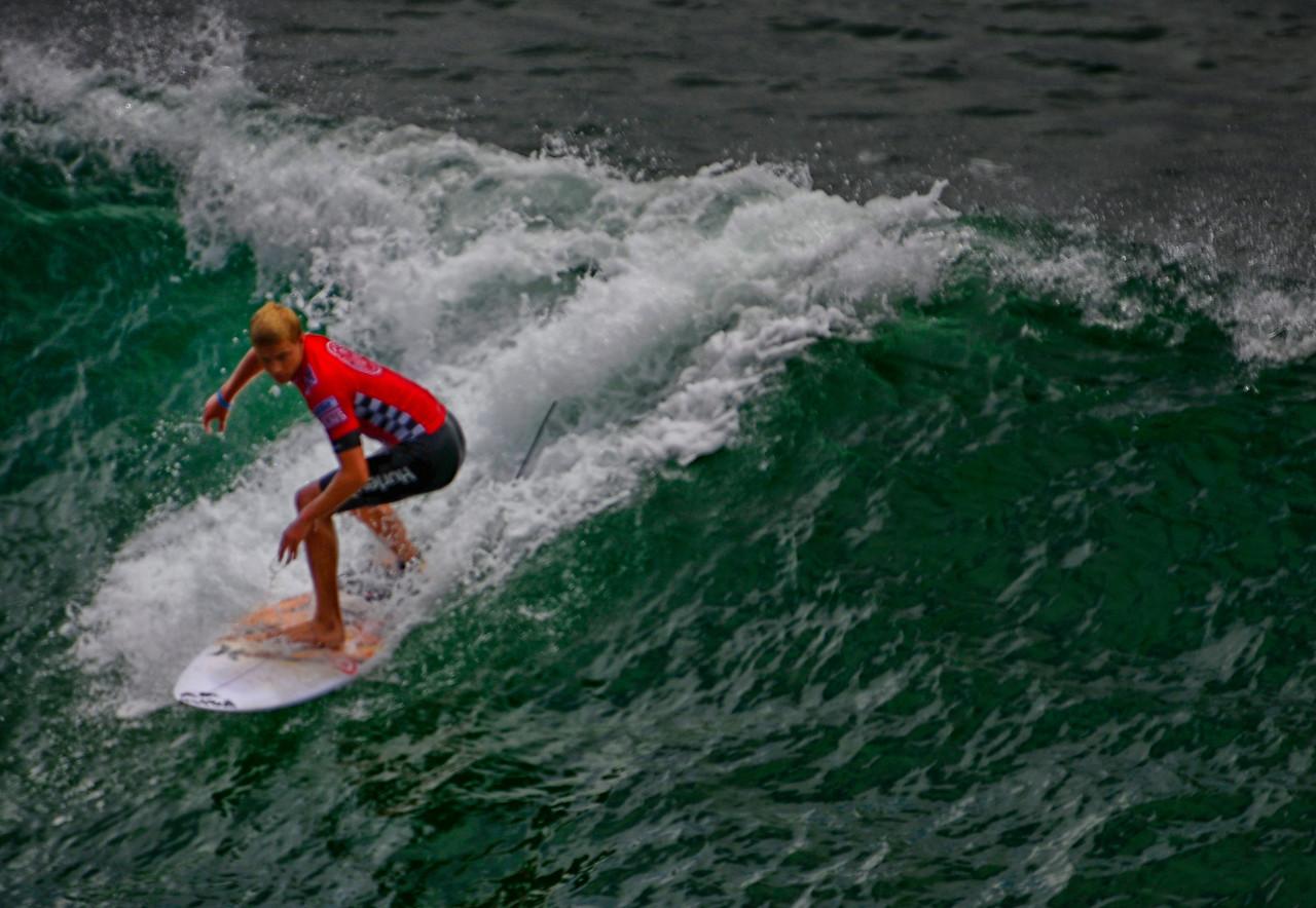 Kolohe Andino 2nd Finalist Van US open Pro Surf 2013