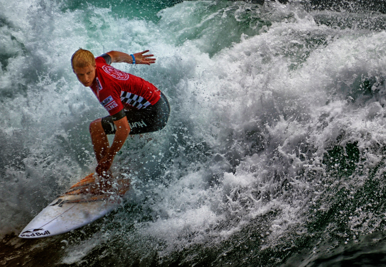 Kolohe Andino 2nd Finalist Van US open Pro Surf 2-2013