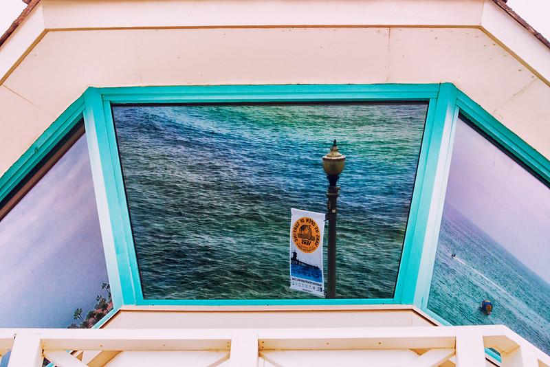 Lifeguard Tower reflections2 2014