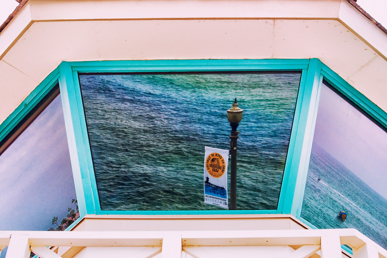 Lifeguard Tower reflections2 2014