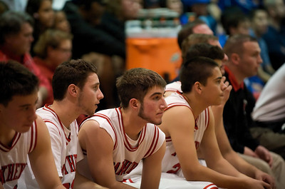 Varsity Basketball Dec 18th 2009