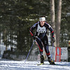 Record-Eagle/Keith King <br /> Cassidy Edwards, of Cedar, finishes first in the 27 km freestyle womens division Saturday, February 12, 2011 during the North American Vasa at Timber Ridge Resort.
