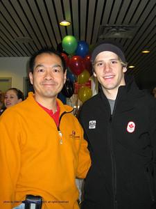 Vaughn Chipeur with Alan Chong,