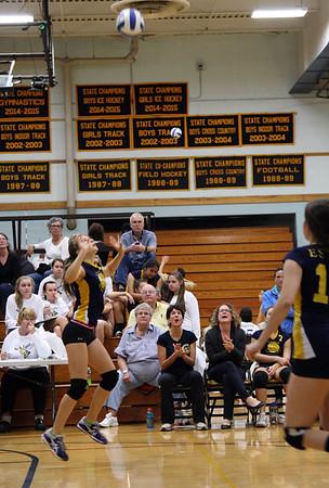 Volleyball EHS vs VT Commons 2015 Varsity