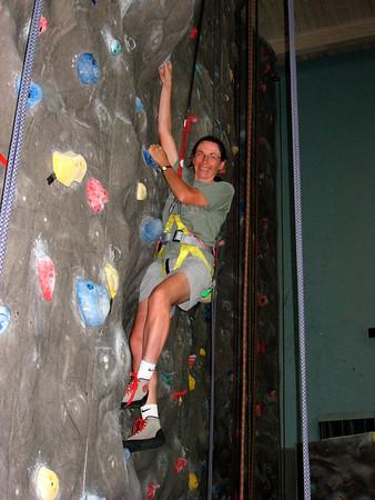 Climbing wall @ UCSB (July 2007)