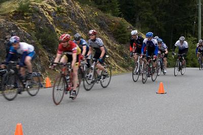 B sprint; 1.Bill Ethier (red), 2.Dave McKinney, 3.Aaron Bremner (grey), 4. Chris Chatham, 5. Chris Paul (IRC), 6.John Taylor